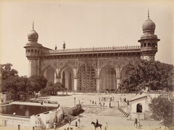 Mecca Masjid, Hyderabad.